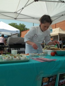 Lorianne Cicchillio from Algonquin Catering will be a guest chef at the Peterborough Downtown Farmers' Market.