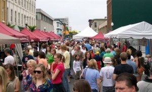 I'll be expecting big crowds and some great food today at Taste of Downtown.