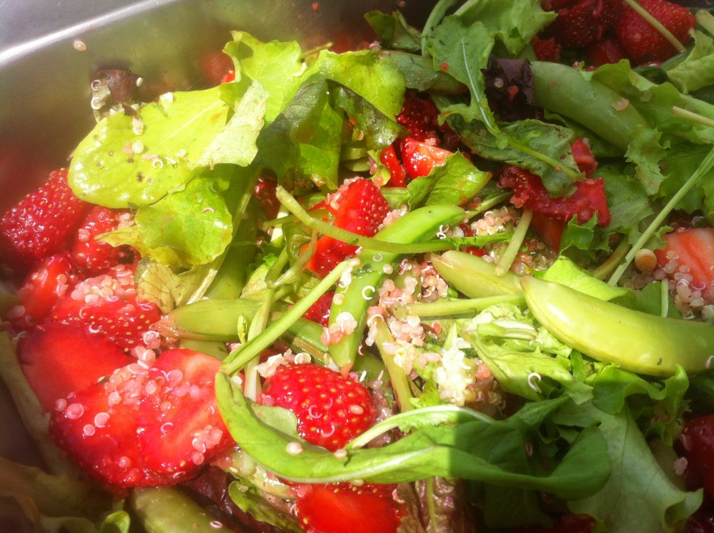 Strawberry Salad from the fine folks at Fresh Urban Plate.